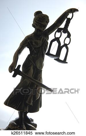 Stock Image Of Symbol Of Law And Justice K26511845 Search Stock