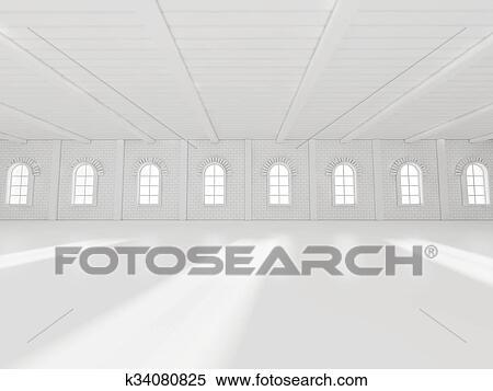 Incredible Empty Showroom 3D Rendering Stock Illustration Download Free Architecture Designs Scobabritishbridgeorg