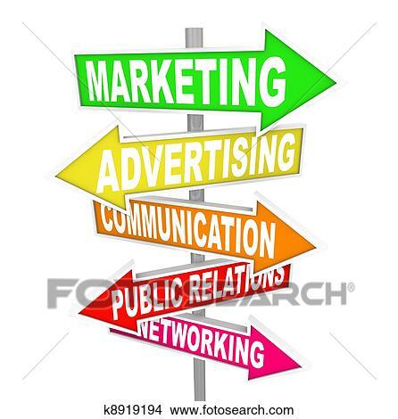 2dba72c735 Archivio Illustrazioni - marketing, pubblicità, comunicazione, su, freccia,  segni. Fotosearch