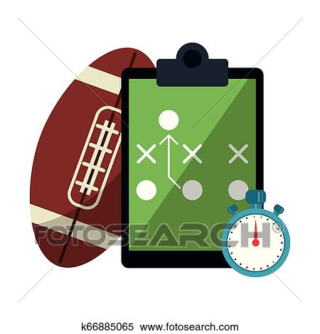 American Football Game Clipart K66885065 Fotosearch