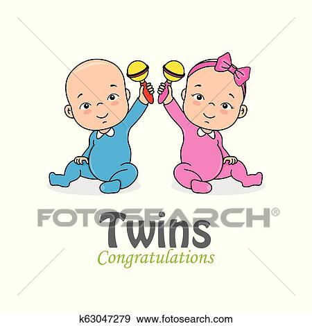 Twins Clipart African American Baby - African American Girl Clipart, HD Png  Download - kindpng