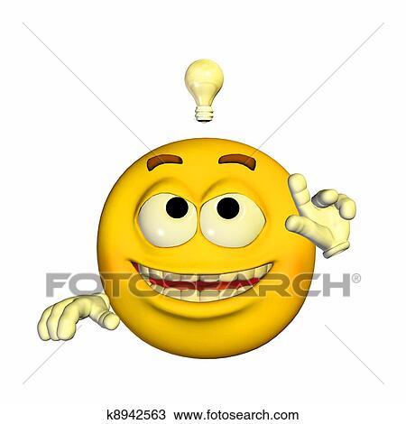 Kresba Vynalezce Emoticon K8942563 Hledat Klipart Ilustrace