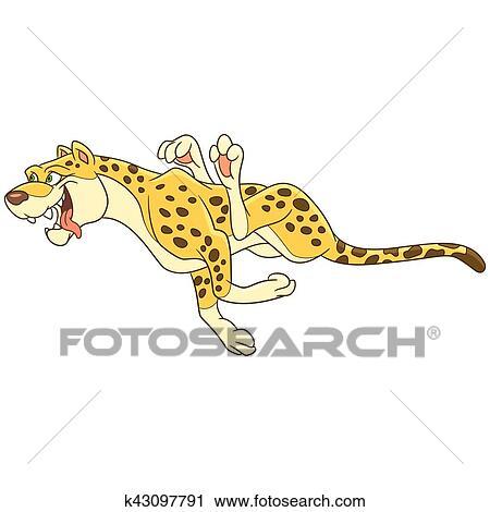 Clipart cartone animato ghepardo animale k43097791 - Animale cartone animato immagini gratis ...