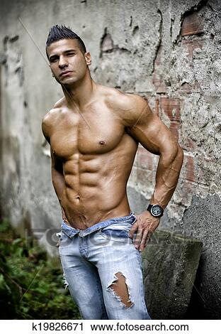 Hot latino muscle