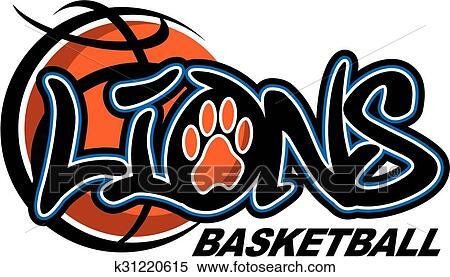 Clipart Of Lions Basketball K31220615 Search Clip Art