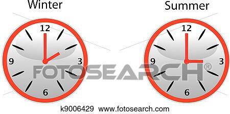 clip art of daylight saving time k9006429 search clipart rh fotosearch com daylight savings time clip art images daylight savings time clip art and pictures