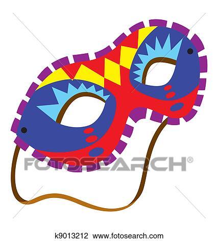 Clip Art Fasching Maske 6 K9013212 Suche Clipart Poster