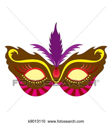 stock illustrations of mardi gras mask 1 k9013110 search clipart