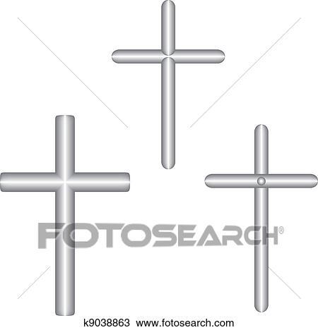 Cross Clipart K9038863 Fotosearch