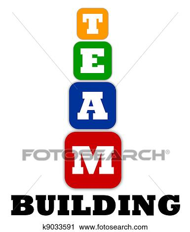 clipart of teambuilding logo k9033591 search clip art rh fotosearch com  team building activities clipart