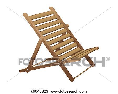 Frisk frugt Strand stol Clipart | k9046823 | Fotosearch EM25