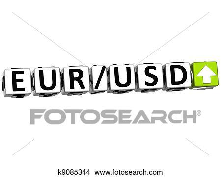 Disegno Valuta Dollaro Euro To Concetto Simbolo Fotosearch