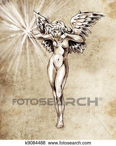 Nude gargoyle woman images pic 171