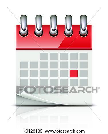 Calendario Icona.Calendario Icona Disegno