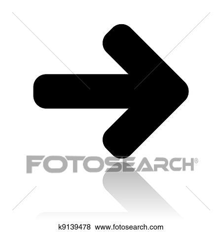 左向き矢印 アイコン イラスト K9139478 Fotosearch