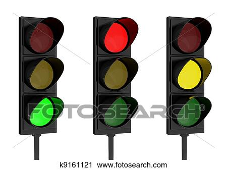 clipart of traffic light k9161121 search clip art illustration rh fotosearch com traffic light clip art printables traffic light clip art png
