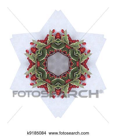Disegni Natale Disegno Di Bacche Agrifoglio K9185084 Cerca