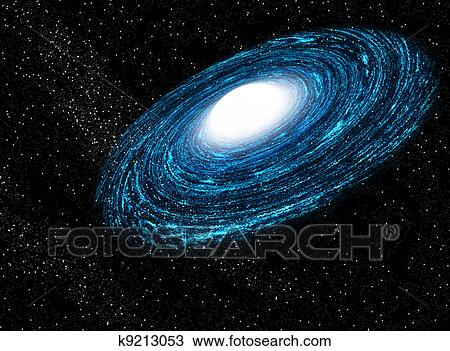 Galaxia Desenho K9213053 Fotosearch