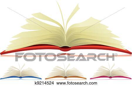clipart of open book set k9214524 search clip art illustration rh fotosearch com open book graphic vector
