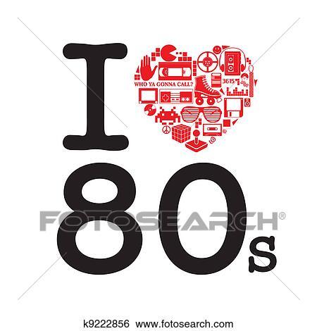 イラスト 80 年代