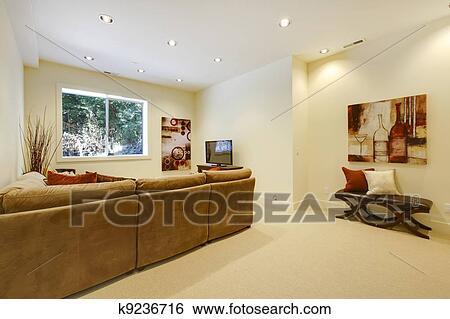 Archivio di immagini soggiorno scala con bagno e bar