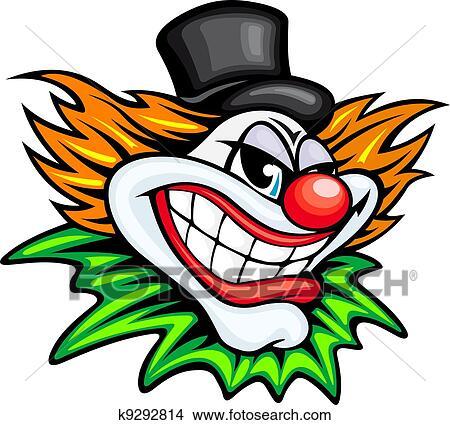 Clipart Circus Clown K9292814 Zoek Clipart Illustratie Fresno S