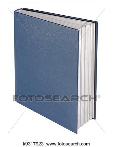 Livre Bleu Isole Dessin