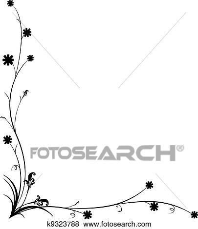 A Trabalho Arte Desenho Vindima Floral Arquivos De Ilustracao