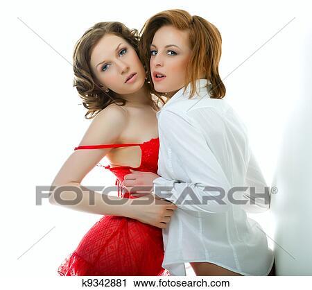 Meisjes lesbiennes