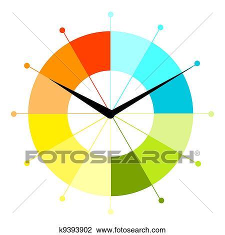 Clipart Creativo Orologio Disegno K9393902 Cerca Clipart