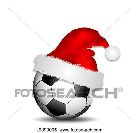 Weihnachten Football Clipart K9399005 Fotosearch