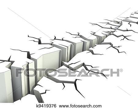 Stock Illustration Of Earthquake K9419376 Search Clip Art