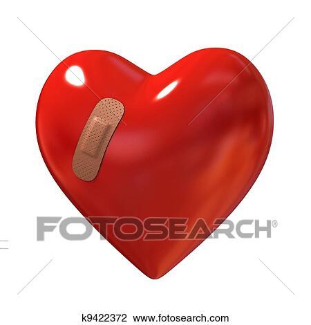 Corazón Roto Dibujo K9422372 Fotosearch