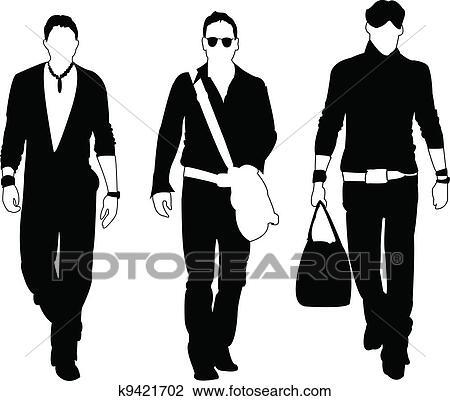 clipart of fashion models k9421702 search clip art illustration rh fotosearch com Handwriting Clip Art Best Friends Clip Art