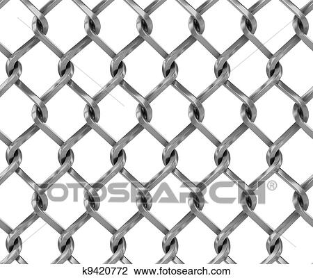 chain link fence texture. Seamless Chainlink Fence 3d Illustration Chain Link Texture C