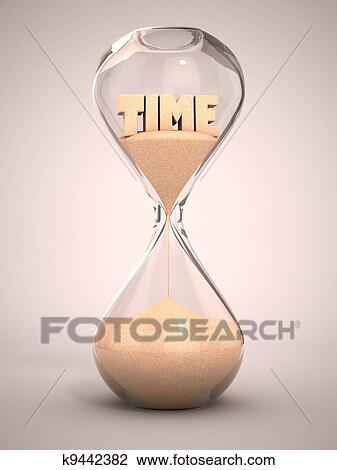 clip art of hourglass sandglass sand timer k9442382 search