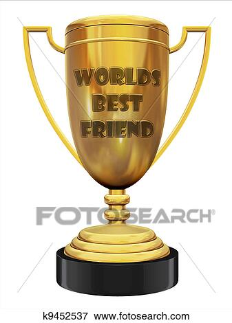 picture of best friend trophy k9452537 search stock photography