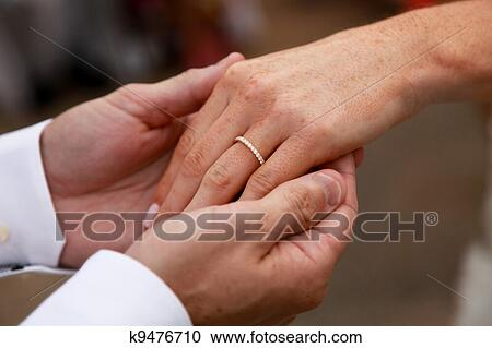 Stock Photography Of Ring Exchange K9476710 Search Stock Photos
