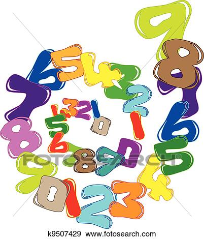 clip art of background with numbers k9507429 search clipart rh fotosearch com clipart of numbers 1 to 20 clip art of numbers from 1 to 10