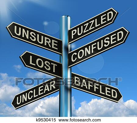 stock illustration of puzzled confused lost signpost baptism clip art symbols lds baptism clipart images
