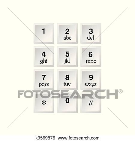 Phone Number With Alphabet Kayboard