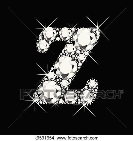 Z أدب أخ ق ب الماس Clipart K9591654 Fotosearch
