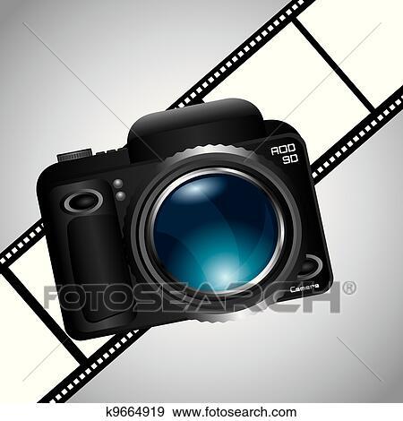 Appareil Photo Clipart K9664919 Fotosearch