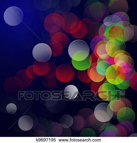 抽象的 ディスコ パーティー 背景 イラスト K9697195 Fotosearch