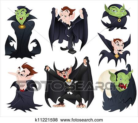 イラスト の Dracula N 吸血鬼 クリップアート K11221598 Fotosearch