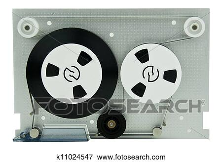 レトロ 音楽 カセットテープ イラスト K11024547 Fotosearch