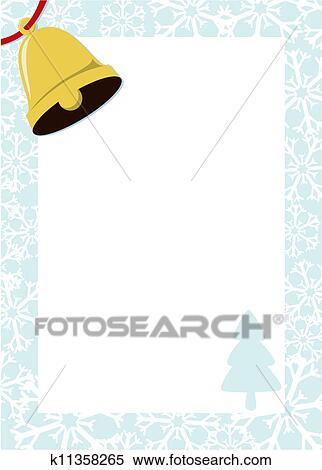 冬 フレーム ベクトル クリップアート切り張りイラスト絵画集