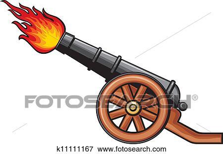 古代, 大砲 クリップアート | k11111167 | Fotosearch