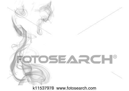 煙 背景 イラスト K11537978 Fotosearch