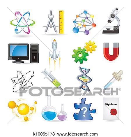 科学 イラスト K10065178 Fotosearch